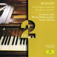 Mozart: Piano Concertos Nos.20, 21, 25 & 27