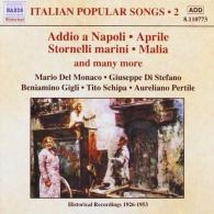 Italian Popular Songs, Vol. 2