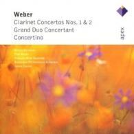 Clarinet Concertos Nos 1 & 2, Grand Duo Concertant & Concertino