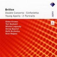 Double Concerto, Sinfonietta, Young Apollo & 2 Portraits