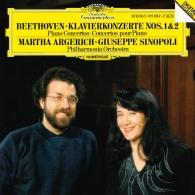 Martha Argerich (Марта Аргерих): Beethoven: Piano Concertos Nos. 1 & 2