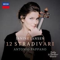 Janine Jansen (Янин Янсен): 12 Stradivari