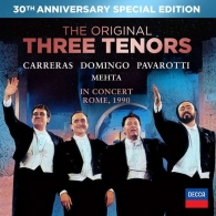 Luciano Pavarotti (Лучано Паваротти): The Three Tenors - 30th Anniversary Version