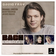 David Fray (Давид Фрай): Bach: Concertos For 2, 3 And 4