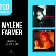 Mylene Farmer (Милен Фармер): Ainsi Soit Je / Cendres De Lune