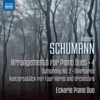 Robert Schumann: Arrangements for Piano Duet Vol.4