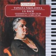 Классика: Бах: Инвенции Симфонии/ Николаева Т.