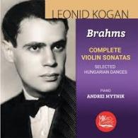 Классика: Коган Л. Брамс Скрипичные Сонаты,Венг.Танцы