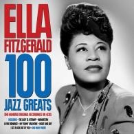 Ella Fitzgerald (Элла Фицджеральд): 100 Jazz Greats