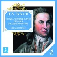 Johann Sebastian Bach (Иоганн Себастьян Бах): Well-Tempered Clavier, Goldberg Variations & Toccatas