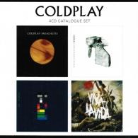 Coldplay (Колдплей): 4 CD Catalogue Set