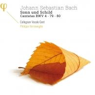 Johann Sebastian Bach (Иоганн Себастьян Бах): Bach J.S.: Sonn Und Schild - Cantatas Bwv 4 - 79 - 80