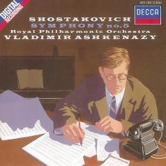 Vladimir Ashkenazy (Владимир Ашкенази): Shostakovich: Symphony No.5/ 5 Fragments