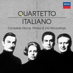 Quartetto Italiano (Итальянский квартет): Complete Philips & Decca Recordings