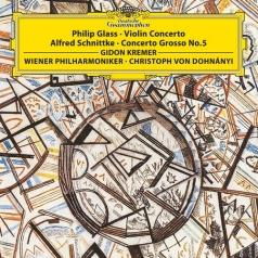 Gidon Kremer (Гидон Кремер): Glass: Violin Concerto/ Schnittke: Concerto Grosso