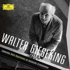 Walter Gieseking (Вальтер Гизекинг): The Complete Bach Recordings On DG