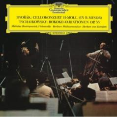 Herbert von Karajan (Герберт фон Караян): Dvorak: Cello Concerto/ Tchaikovsky: Variations On A Rococo Theme