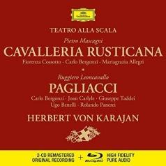 Herbert von Karajan (Герберт фон Караян): Mascagni: Cavalleria rusticana / Leoncavallo: Pagliacci