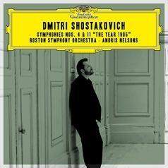 Nelsons Andris (Андрис Нелсонс): Shostakovich: Symphonies Nos. 4 & 11