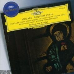 Herbert von Karajan (Герберт фон Караян): Mozart: Requiem; Adagio & Fugue K.546