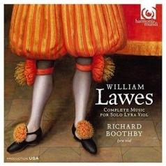 Richard Boothby: Lawes,William/Complete Music For Solo Lyra Viol/R.Boothby, Lyra-Viol