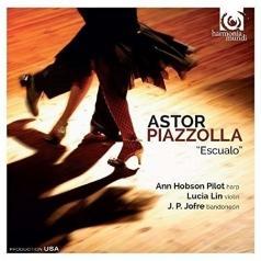 Lucia Lin (Лусиа Лин): Piazzolla / Escualo. Histoire Du Tango. Valsisimo/Ann Hobson Pilot (Harp), Lucia Lin (Violin), J. P. Jofre (Bandoneon)