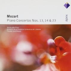 Maria-Joao Pires (Мария Жуан Пиреш): Piano Concertos Nos 13, 14 & 23