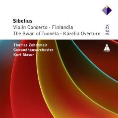 Kurt Masur (Курт Мазур): Violin Concerto, Finlandia, Swan Of Tuonela & Karelia Overture
