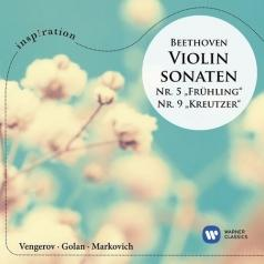 "Maxim Vengerov (Максим Венгеров): Beethoven: Violin Sonatas No. 5 (""Spring"") And No. 9 (""Kreutzer"")"