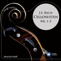 Heinrich Schiff (Генрих Шифф): J.S. Bach: Cellosuiten Nr. 1-3
