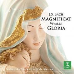 Neville Marriner (Невилл Марринер): J.S. Bach: Magnificat / Gloria