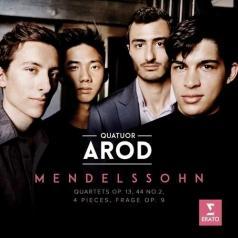 Quatuor Arod: String Quartets Nos. 2 & 4