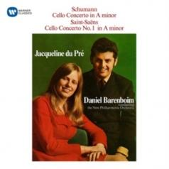 Jacqueline Du Pre (Жаклин Дю Пре): Schumann: Cello Concerto / Saint-Saens: Cello Concerto No. 1