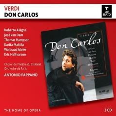 Antonio Pappano (Антонио Паппано): Verdi: Don Carlos