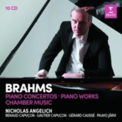 Nicholas Angelich (Николас Ангелич): Piano Concertos, Piano Works, Violin Sonatas, Piano Trios, Piano Quartets