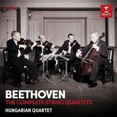 Hungarian Quartet: The Complete String Quartets (Rec. In Paris In The Early 1950S)