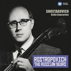 Mstislav Rostropovich (Мстислав Ростропович): Cello Concertos