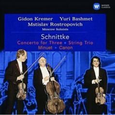 Mstislav Rostropovich (Мстислав Ростропович): Concerto For Three, String Trio & Minuet