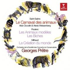 Georges Pretre (Жорж Претр): Saint-Saens: Le Carnaval Des Animaux, Poulenc: Les Animaux Modcles