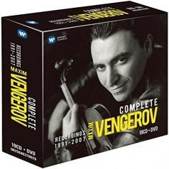 Максим Венгеров: Complete Recordings 1991-2007