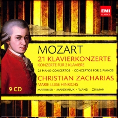 Wolfgang Amadeus Mozart: 21 Piano Concertos And Concertos For Two Pianos