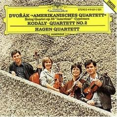 "Hagen Quartett (Квартет Хаген): Dvorak: String Quartet No.12 ""American""; Cypresses"