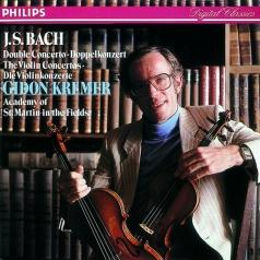 Gidon Kremer (Гидон Кремер): Bach: Violin Concertos In E And A Minor