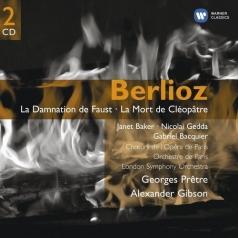 Georges Pretre (Жорж Претр): La Damnation De Faust; La Mort De Cleopatr