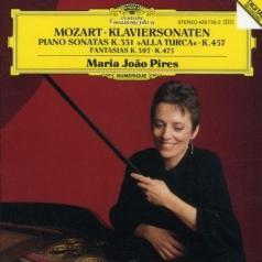 Maria Joao Pires (Мария Жуан Пиреш): Mozart: Piano Sonatas K.457 & K.331, Fantasias K.