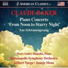Marc-André Hamelin (Марк-Андре Амлен): Concerto For Piano And Orchestra 'From Noon To Starry Night' • Aus Schwanengesang