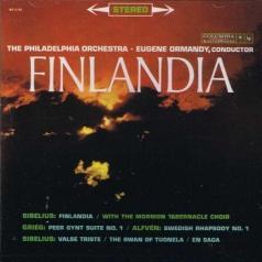 Eugene Ormandy (Юджин Орманди): Sibelius: Finlandia, Valse triste, The Swan Of Tuonela, En Sag, Grieg: Peer Gynt Suite No 1, Alfven: Swedish Phapsody No.1