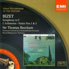 Thomas Beecham (Томас Бичем): Symphony in C & L'Arlesienne Suites