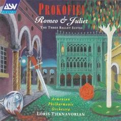 Loris Tjeknavorian (Лорис Айказович Чкнаворян): Prokofiev: Romeo & Juliet - The Three Ballet Suites