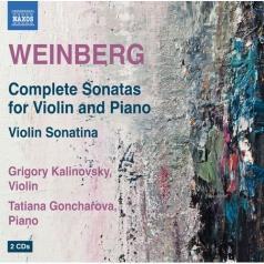 Grigory Kalinovsky (ГригорийЕвстафьевичКалиновский): Complete Violin Sonatas